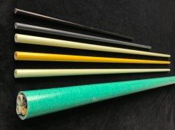 FRP che infila il tubo rotondo della vetroresina vulcanizzato triangolo vuoto del tubo dell'isolamento del collegare del tubo
