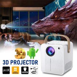 Proiettore portatile pieno di vendita superiore del teatro domestico dell'affissione a cristalli liquidi LED del ODM HD 4K dell'OEM della fabbrica video