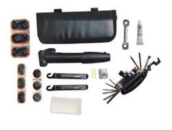 Professionnels de la pompe à vélo Mini Multi Tool Set Bike Etui à outils Trousse à outils de réparation de bicyclettes