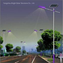 Design personalizado de alto poste de iluminação exterior Solar com alto lúmen lâmpada LED
