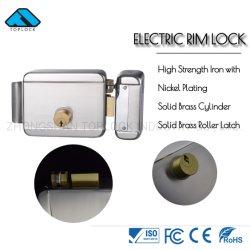 키 (TL1073-DL-SN-R4)를 가진 두 배 실린더 전기 변죽 자물쇠 지능적인 자물쇠