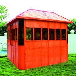 高品質の庭の温水浴槽の木の防水望楼(SR882)