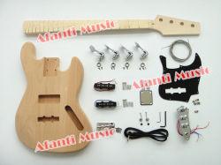 Música Afanti Bass Kit guitarra / DIY Electric Bass Kit (ABK-002)