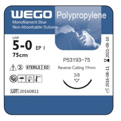 Qualidade elevada de polipropileno para suturas cirúrgicas produtos