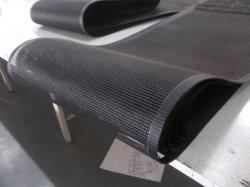 Color negro, marrón de la correa de malla de PTFE (3A3010)