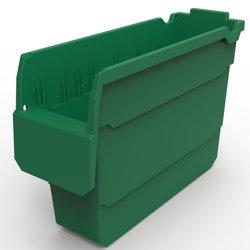 Склад для хранения промышленных пластиковый лоток, пластиковый лоток, Linbin