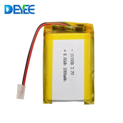 Batterie au lithium polymère 3,7 V 103450 1800 mAh Li-ion pour le contrôleur de batterie/ prismatique de matériel médical