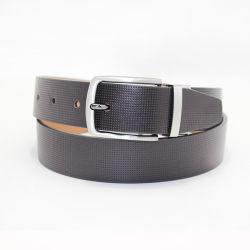 Accesorio de moda del cinturón de cuero genuino Correa Reversible 35-19400