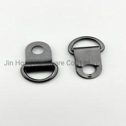金属のDリングはストッパー背部靴のホックのバックルを締める