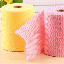 Paño de limpieza de Hogar Cocina Multi-Colors Seque Non-Woven Roll