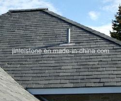 Populärer preiswerter natürlicher schwarzer Dach-Schiefer für europäischen Markt