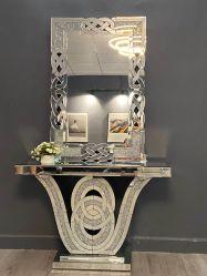 Bajo precio personalizado personalizado estable de la consola de espejo de muebles de salón