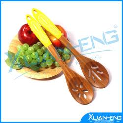 15cm de la sécurité alimentaire de l'outil de cuisine de qualité Bamboo 2pcs ustensiles défini