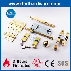 UL 화재 나무로 되는 문을%s 정격 황금 가구 건축 기계설비