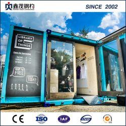 Mobiele container geprefabriceerd Huis voor kleine Winkel (Container House)