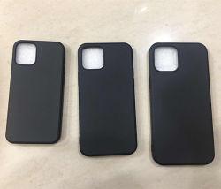 IPhone 12 силиконового герметика Rubber-Oil телефон случае