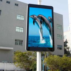 P4 водонепроницаемый SMD полноцветный светодиодный экран столб уличного освещения для использования вне помещений