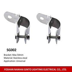 Carro de Aço de metal do suporte de montagem da luz (máx. 54mm)