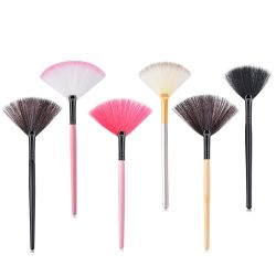 Nuevo Single Blusher Pinceles de maquillaje profesional del sector de polvo de maquillaje suave cosméticos Cepillos de cabello sintético