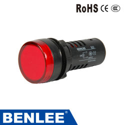 Spia LED da 22 mm a sei colori