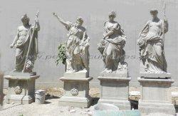 Acabamento antigo Tamanho Vida lado grego esculpidas Four Season Deus esculturas de jardim (SY-X1904)