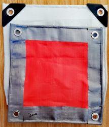 La bâche de protection de la taille personnalisée fournisseur professionnel de la couleur de l'emballage plastique imperméable FEUILLE PE bâche