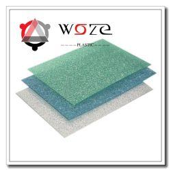 Il policarbonato della decorazione della stanza da bagno impresso riveste i materiali della mobilia