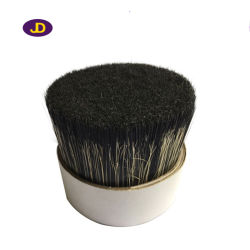 76mm 70% Tops Chungking Pure Black Double Boiled Bristle