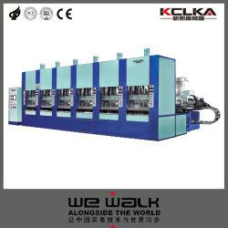Automatische EVA-spuitmachine met spuitgaas en servo-systeem