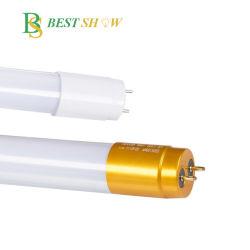 ISO9001 Ce RoHS 300mm 600mm 1200mm 1500mm 18 Watts PF0.9 230V 110V 120V de 24 LEIDENE van het Glas van de Duim T5 T8 Gouden Kappen 6500K van de Buis 18W