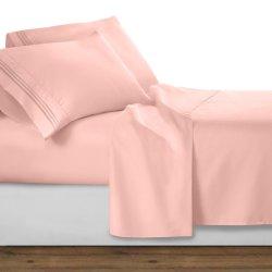 1800의 스레드 조사 100%는 Microfiber 직물 침대 시트 세트 자수를 솔질했다