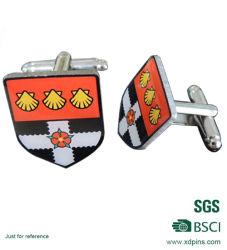 Speciale metalen manchetten voor heren met aangepast logo (XD-258)