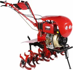 9hp 178fa Aircool 1-Cilinder Diesel 4-Takt Elektrische Rotatrie Cultivator