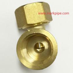 Raccord de compression en laiton pour les pe-al-tuyau PE 16mm pour le marché de l'Inde