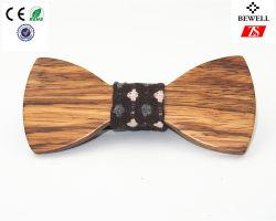 Mens Gravata de madeira artesanais celebração elegante Bow tie