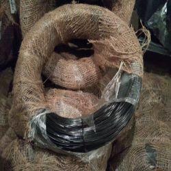 Schwarzes getempertes Eisen-Metalldraht-Seil für das Binden