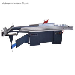 Maschinerie-sah automatische hölzerne Ausschnitt-Maschine Digital der Holzbearbeitung-Mj6138, die Schiebetisch-Panel der Grad-3800mm kippt, Maschine