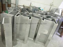 مكتب مخصص لحلقة العمل قسم الألومنيوم الجزء الخارجي المعدني لحائط الستائر الخارجية