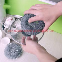 Raschiatore galvanizzato della maglia del POT dell'acciaio inossidabile del metallo per pulizia della cucina