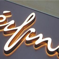 Las placas de luminosa LED 3D para efectos de publicidad letras de neón