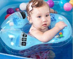 Aisselles de natation de PVC de qualité et boucle gonflables de collet