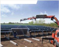 Grosser Bereichs-blauer Beschichtung-Solarheizungs-Sammler für Zentralheizung in Europa