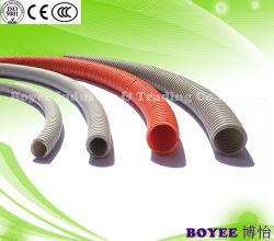 Le fil électrique noir en PVC souple tuyaux des conduites