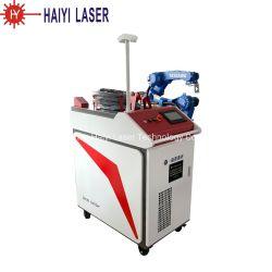 Schweißer des Befestigungsteil-Industrie-Roboter-Faser-Laser-Schweißgerät-2000W 3D