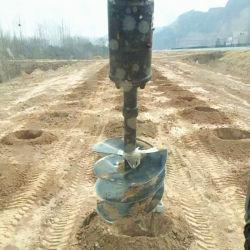 Una buena calidad de HCN marca 0510 sinfín hidráulico compatible con la pala cargadora y excavadora cargadora compacta, camino a la venta