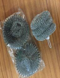 Bons produtos para Cozinha Fio galvanizado Scourer Malha com embalagem biodegradável