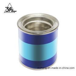 0.0925 Litros Lata de metal redonda pequeno recipiente de embalagem