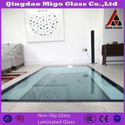 Piso laminado de vidro temperado Vidro laminado para Piso Térreo