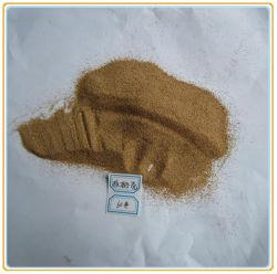 サンドブラスティングおよびポーランド語のためのクルミのシェルの砂