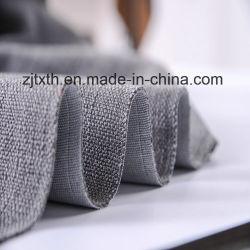2016 Linge de luxe cation Tissu gris canapé